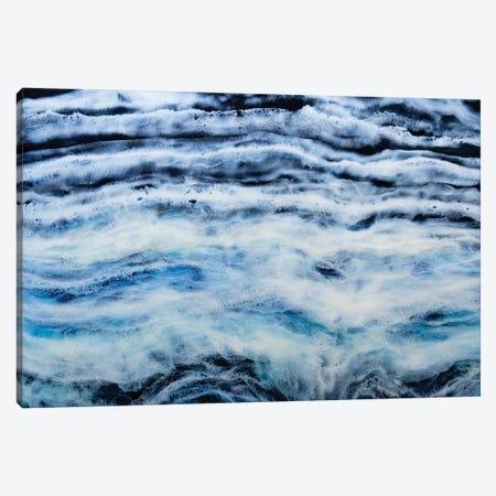 Arctic Waves Light Canvas Print #TWM2} by Christina Twomey Canvas Print