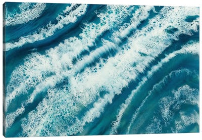 Tropical Surf Canvas Art Print