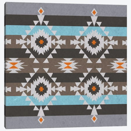 Quad Tribal Pattern Canvas Print #TXT19} by 5by5collective Canvas Artwork