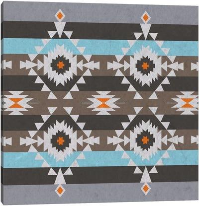 Quad Tribal Pattern Canvas Art Print