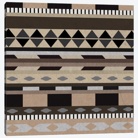 Desert Sands Tribal Pattern I Canvas Print #TXT20} by 5by5collective Canvas Print