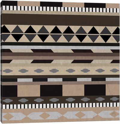 Desert Sands Tribal Pattern I Canvas Art Print