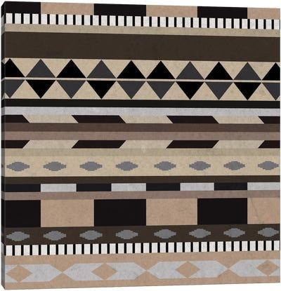 Desert Sands Tribal Pattern I Canvas Art Print