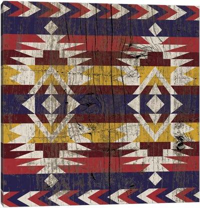 Tribal Dusk Canvas Print #TXT21