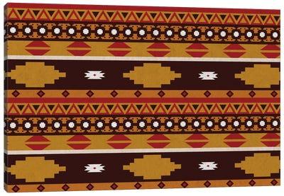Bold Tribal Pattern Canvas Art Print