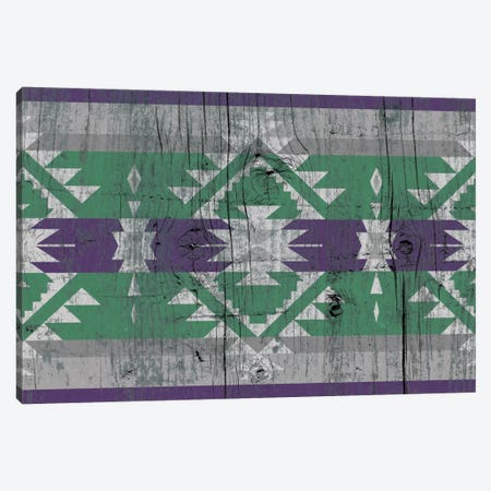 Tundra Tribal Pattern on Wood Canvas Print #TXT44} by 5by5collective Canvas Art