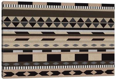 Desert Sands Tribal Pattern II Canvas Art Print