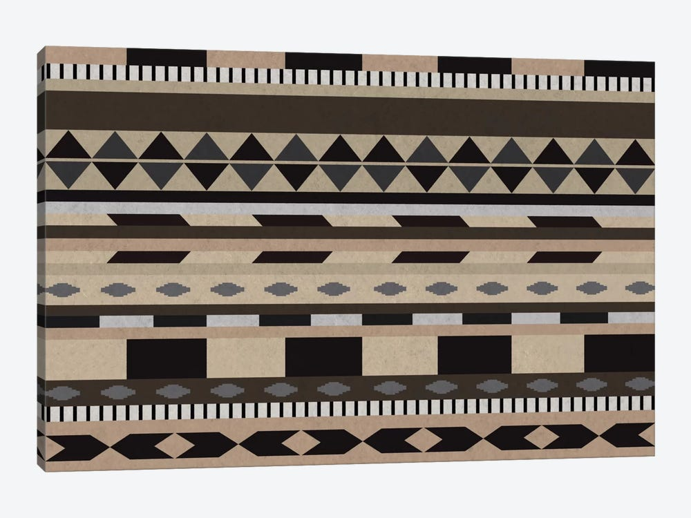Desert Sands Tribal Pattern II by 5by5collective 1-piece Canvas Wall Art