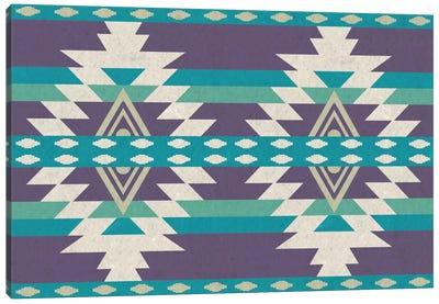 Tribal Grape Pattern Canvas Print #TXT58