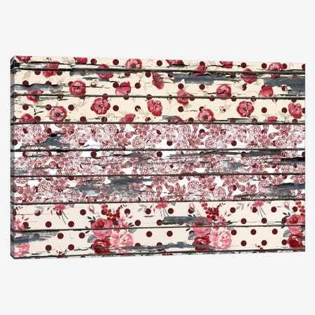 Floral Boards #2 Canvas Print #TXT6} by iCanvas Canvas Print