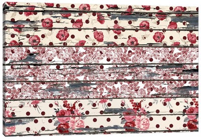 Floral Boards #2 Canvas Art Print