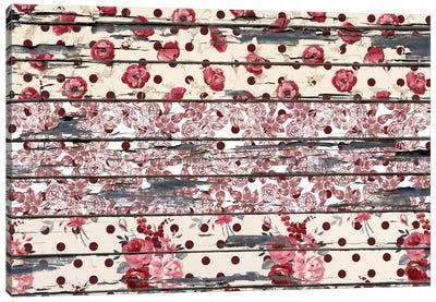 Floral Boards #2 Canvas Art Print