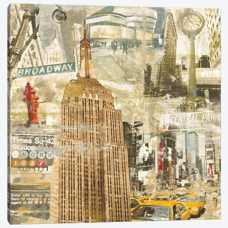In New York City Canvas Print #TYB10} by Tyler Burke Canvas Art Print