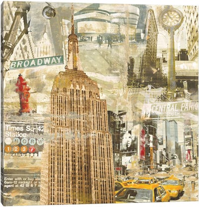 In New York City Canvas Art Print