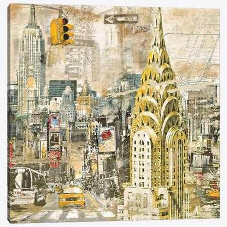 In Manhattan Canvas Print #TYB11} by Tyler Burke Canvas Print