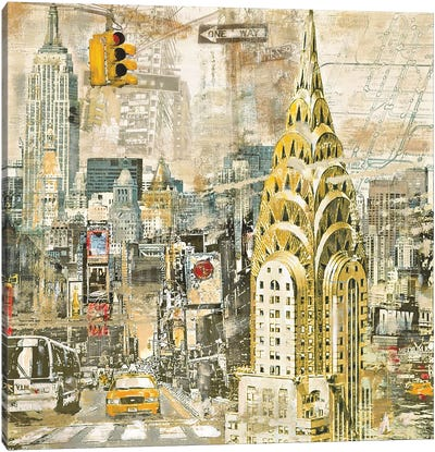 In Manhattan Canvas Art Print