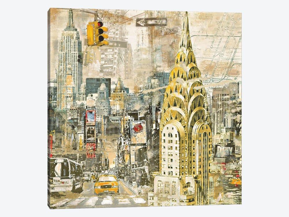 In Manhattan by Tyler Burke 1-piece Canvas Artwork