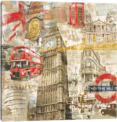 In London Canvas Art Print