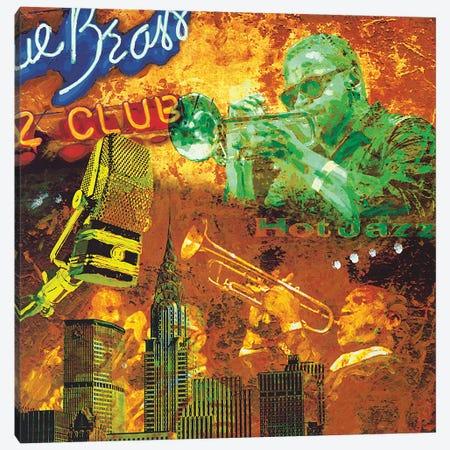 Hot Jazz Canvas Print #TYB4} by Tyler Burke Canvas Art Print