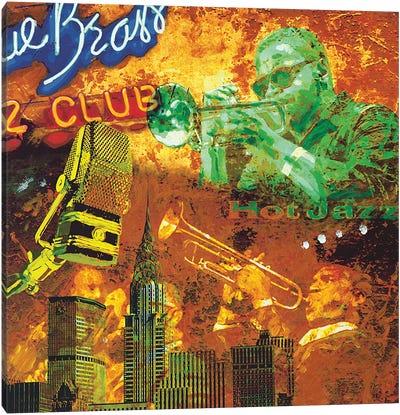 Hot Jazz Canvas Art Print