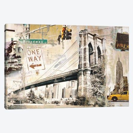 Manhattan Canvas Print #TYB5} by Tyler Burke Canvas Print
