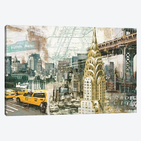 New York Canvas Print #TYB6} by Tyler Burke Canvas Print