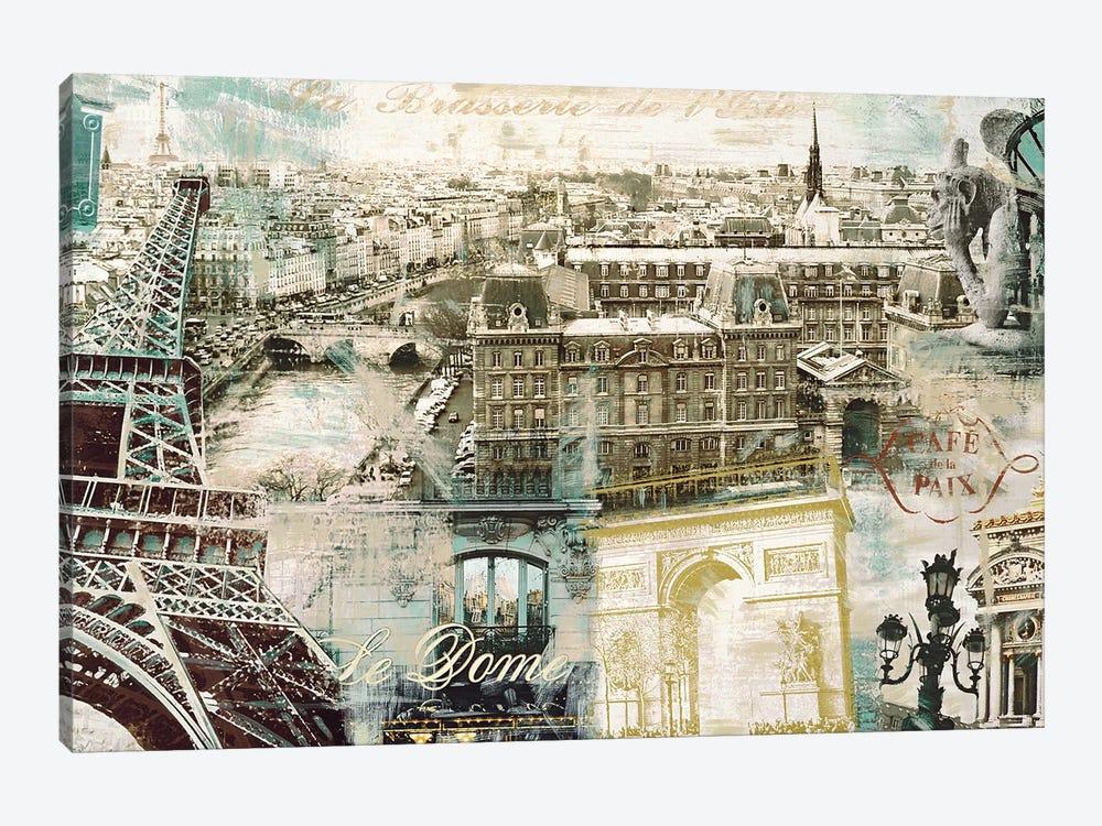 Paris by Tyler Burke 1-piece Canvas Print