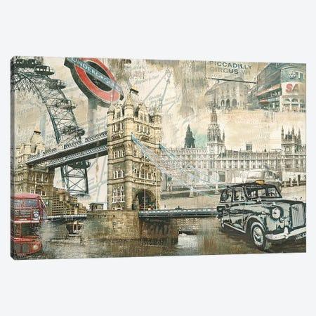 London Canvas Print #TYB8} by Tyler Burke Canvas Art