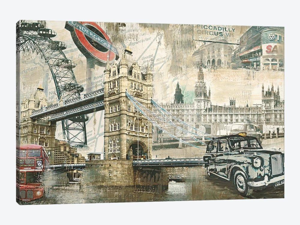London by Tyler Burke 1-piece Canvas Artwork