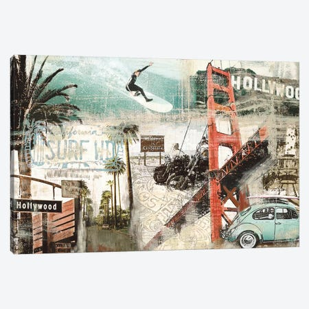 California Canvas Print #TYB9} by Tyler Burke Canvas Art