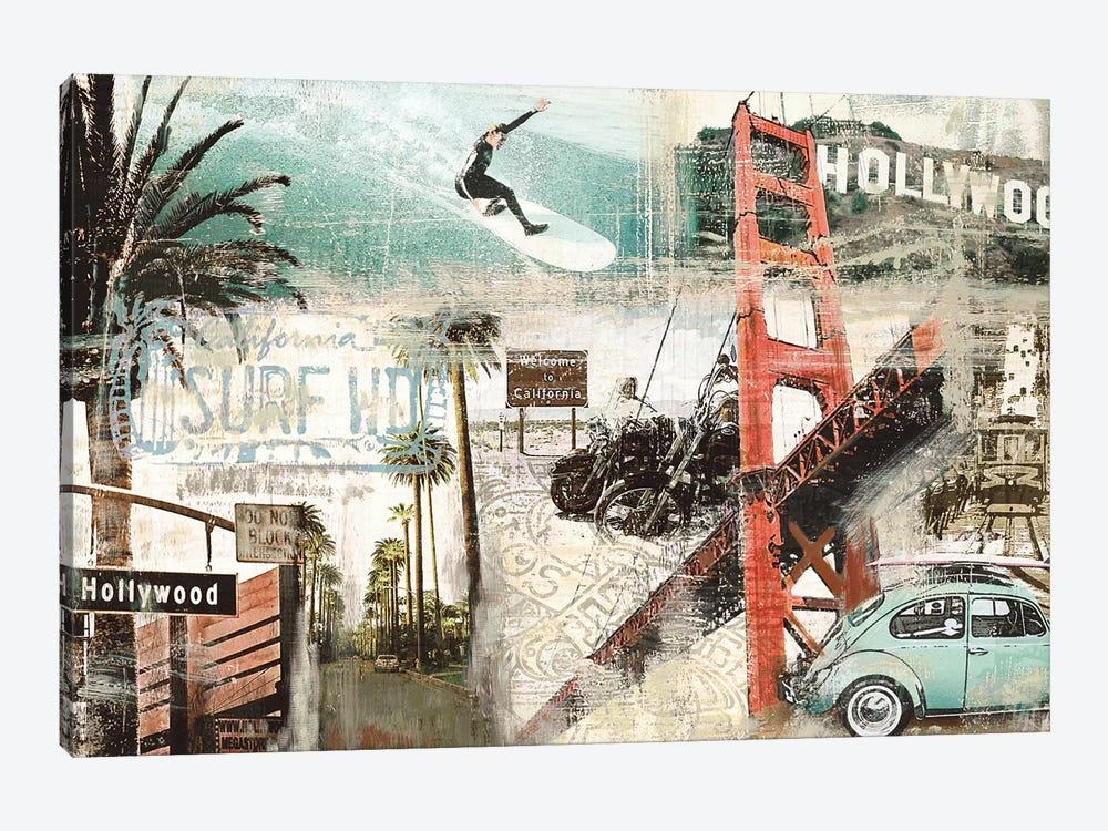 California by Tyler Burke 1-piece Canvas Print