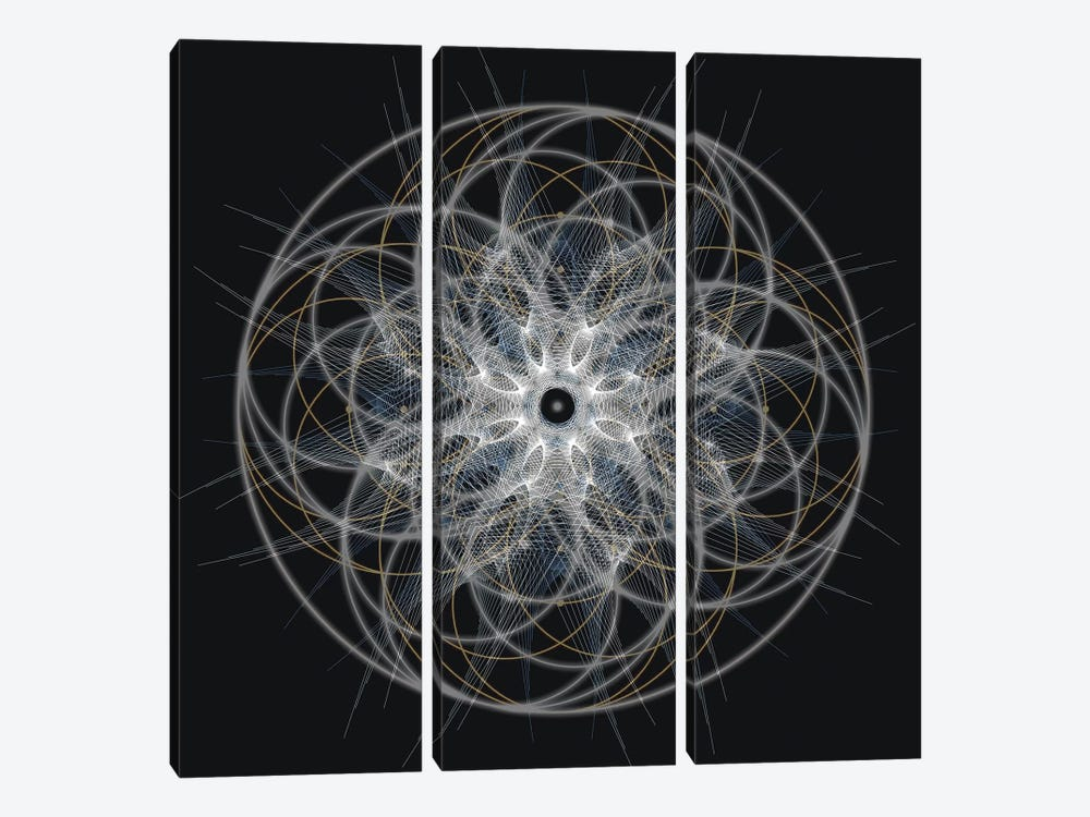 Positive Energy I by Tyler Anderson 3-piece Canvas Artwork