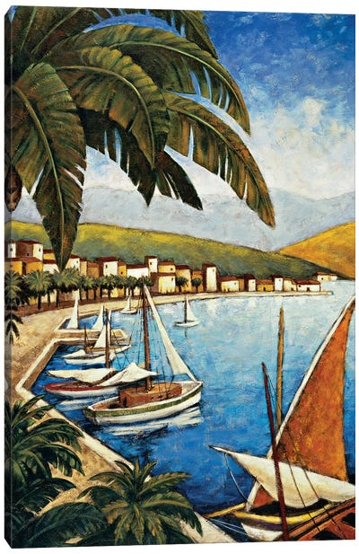 Côte d'Azur I Canvas Art Print