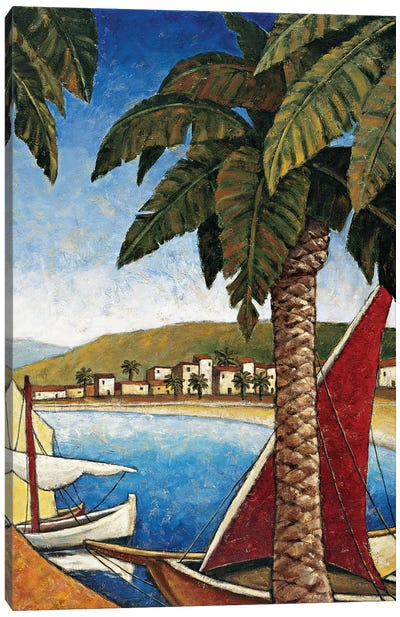 Côte d'Azur II Canvas Art Print