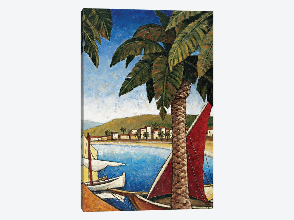 Côte d'Azur II by Thomas Young 1-piece Canvas Art Print