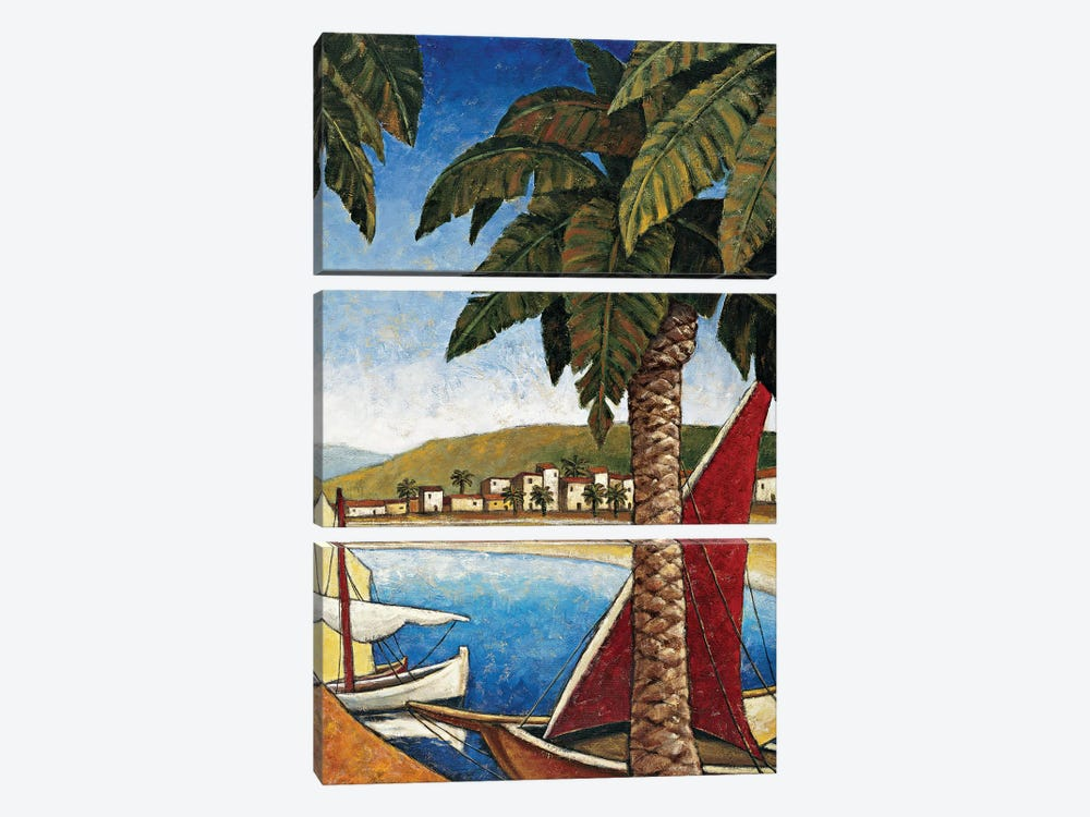 Côte d'Azur II by Thomas Young 3-piece Canvas Print