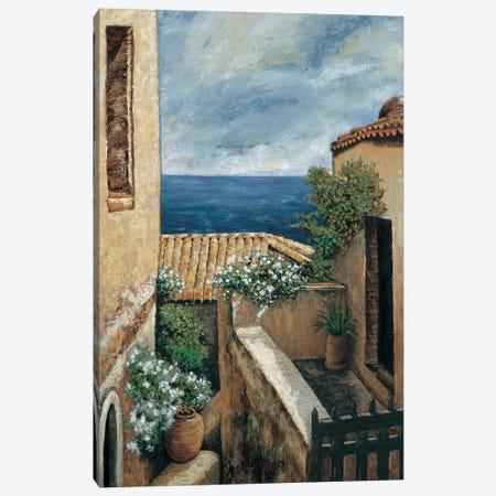 Coastal Village I Canvas Print #TYO3} by Thomas Young Canvas Art Print
