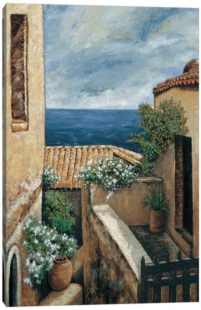 Coastal Village I Canvas Art Print