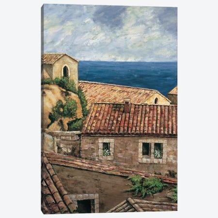 Coastal Village II Canvas Print #TYO4} by Thomas Young Canvas Wall Art