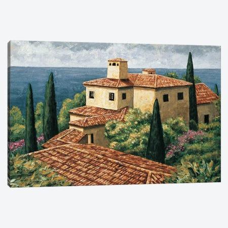 Del Mar Villa Canvas Print #TYO6} by Thomas Young Canvas Art