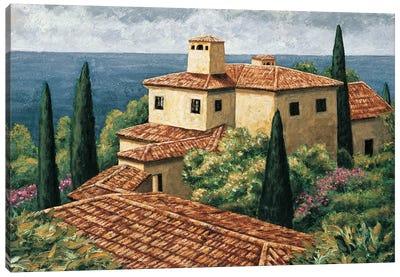 Del Mar Villa Canvas Art Print