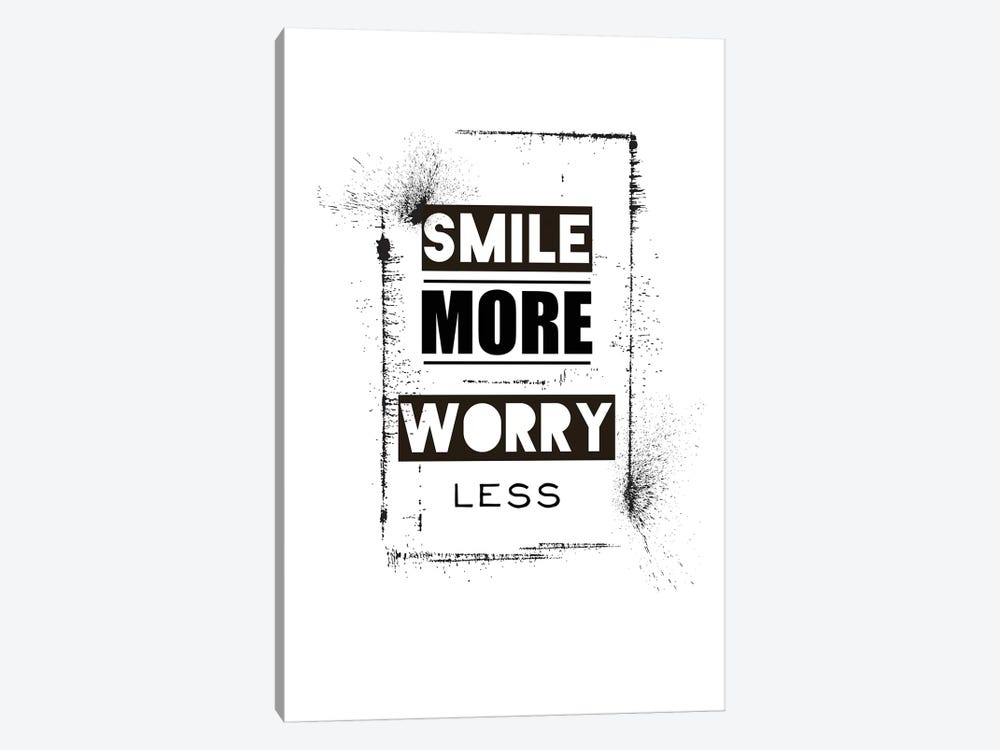 Smile by TypeLike 1-piece Art Print