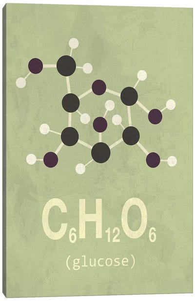 Glucose Canvas Art Print