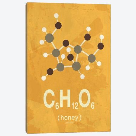 Honey Canvas Print #TYP9} by TypeLike Art Print