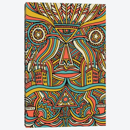 Dreamcatcher Canvas Print #TYU10} by Misha Tyutyunik Canvas Art