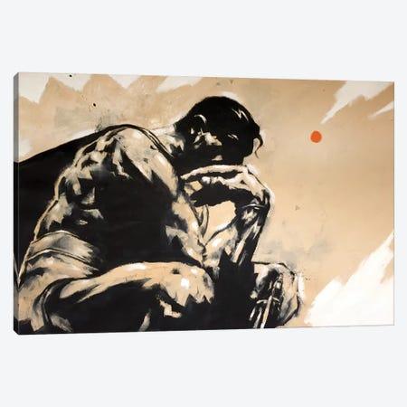I Think I'm Superman Canvas Print #TYU17} by Misha Tyutyunik Canvas Print
