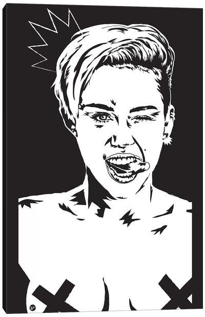 Miley Canvas Art Print
