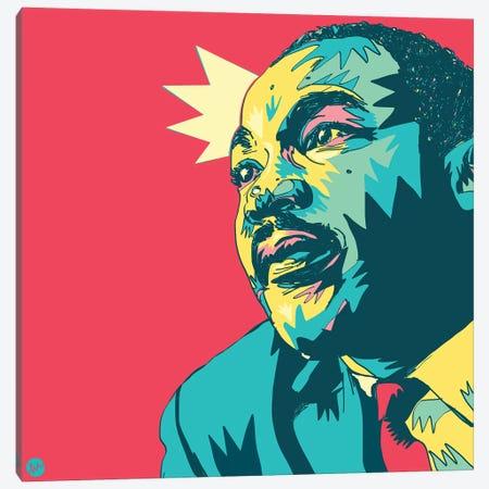 MLK Canvas Print #TYU23} by Misha Tyutyunik Art Print