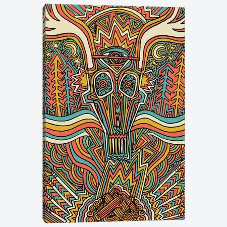 Are You Afraid Of The Dark 3-Piece Canvas #TYU42} by Misha Tyutyunik Art Print