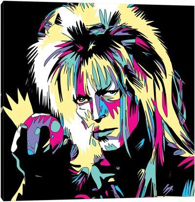 Bowie The Goblin King Canvas Art Print